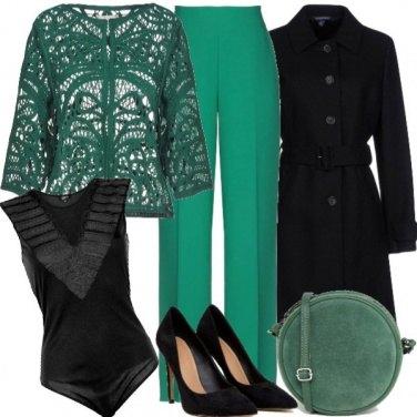 Outfit Vestita di verde speranza