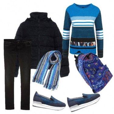 Outfit TSK In giro per regali