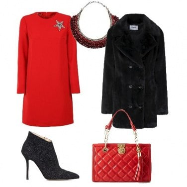 Outfit Rosso protagonista
