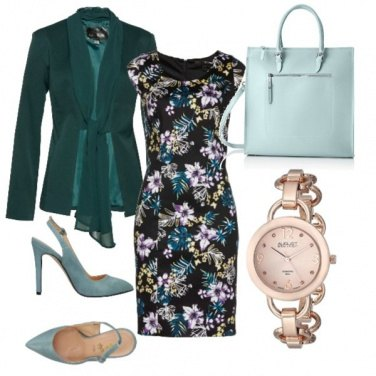 Outfit Tema floreale