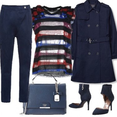 Outfit Prevale il blu