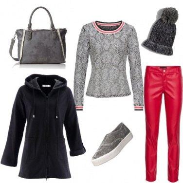 Outfit In giro a comprare i regali!