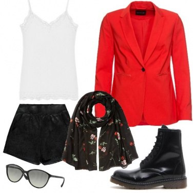 Outfit Red glam