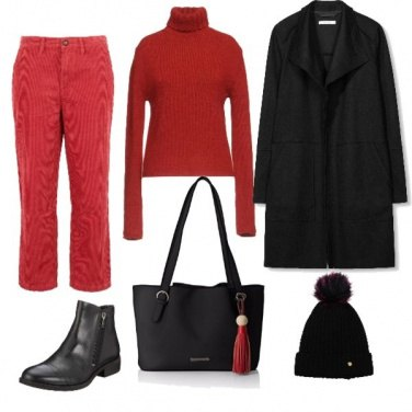 Outfit A natale in famiglia