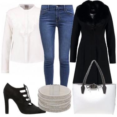 Outfit Romanticamente rouches