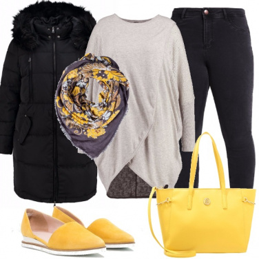Outfit Un tocco giallo