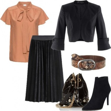 Outfit Glam in low cost