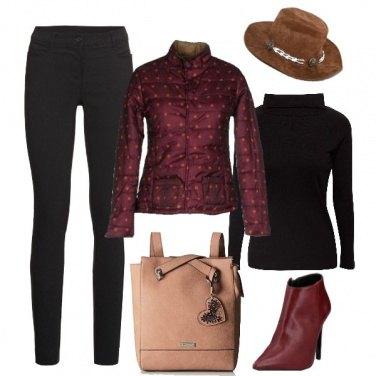 Outfit Glam con lo zaino