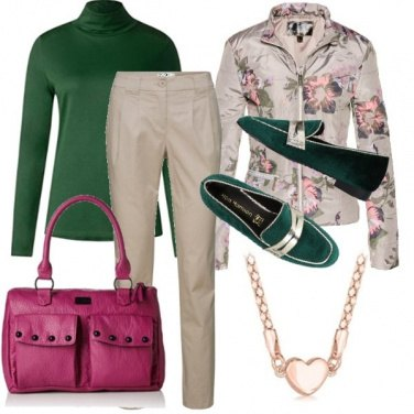 Outfit Maglia verde