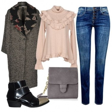 Outfit Un cappotto fashion