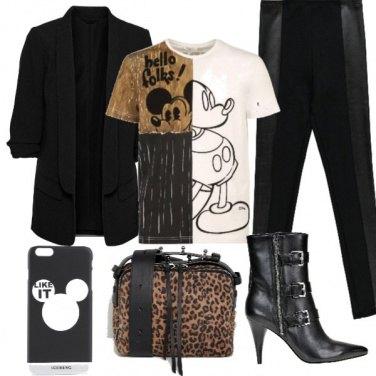 Outfit Blazer nero
