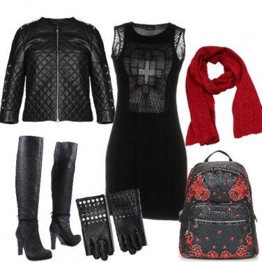 Outfit Il tubino rock