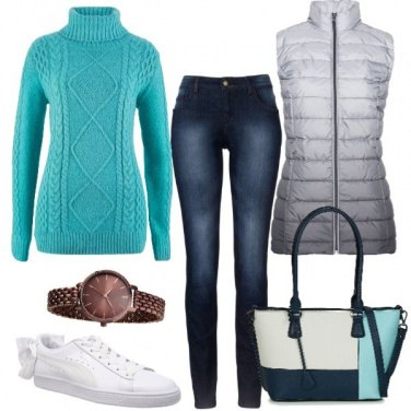 Outfit Glam anche low cost