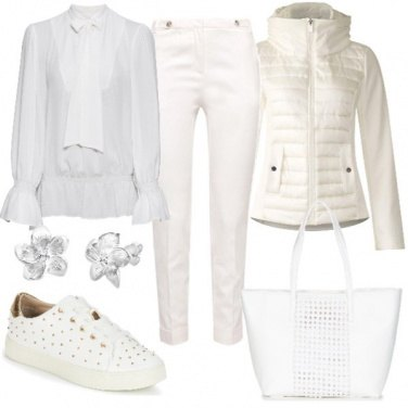 Outfit Per chi adora il bianco anche d'in