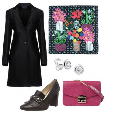 Outfit Il foulard variopinto