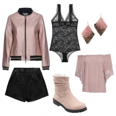 Outfit Rose gold ribelle