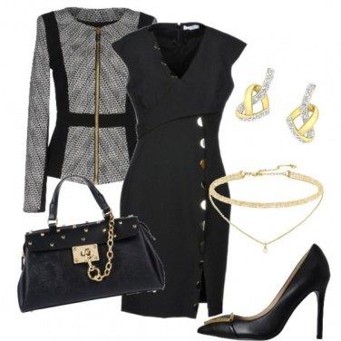 Outfit Mai senza tubino nero