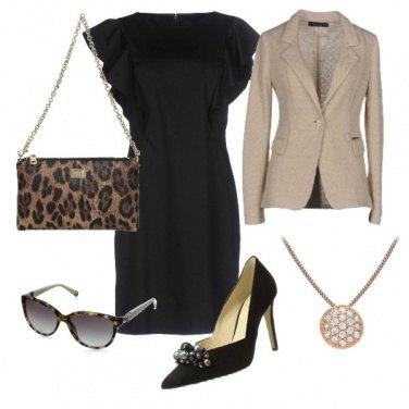 Outfit Borsa animalier