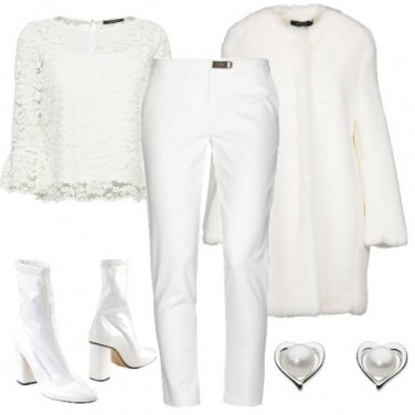 Outfit Chic col bianco