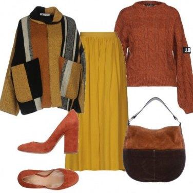Outfit Inverno a colori