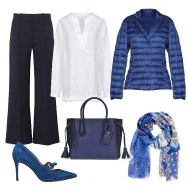 Outfit Piumino taglio giacca