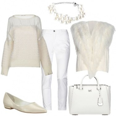 Outfit Bianco che scalda