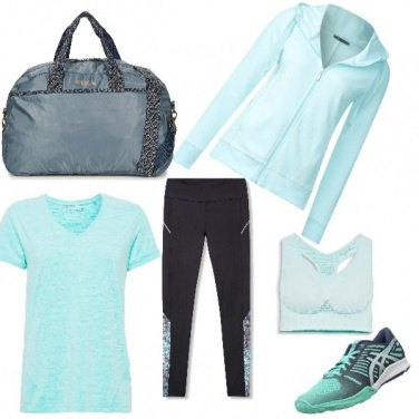 Outfit Green Gym