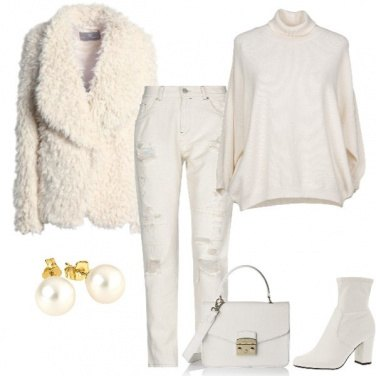 Outfit Il bianco d\'inverno