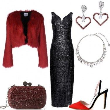 Outfit Rosso portafortuna