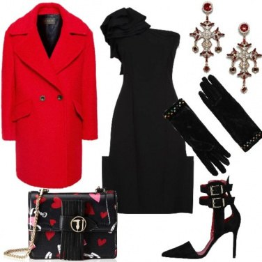 Outfit Capodanno in Little black dress