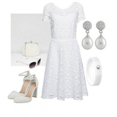 Outfit Total White Chic