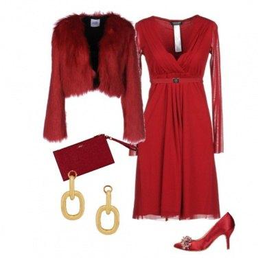 Outfit Tulle per la vigilia di Natale