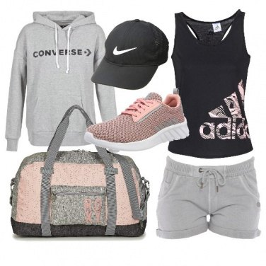 Outfit Fitness in pink