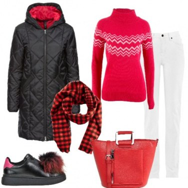 Outfit Vai col rosso