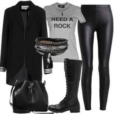 Outfit Voglia di rock