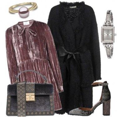 Outfit La raffinatezza del velluto