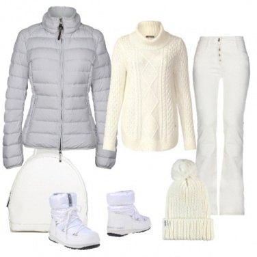 Outfit TSK White Snow
