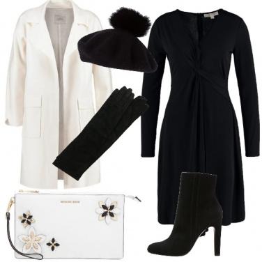Outfit Serata speciale in bianco e nero
