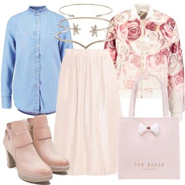 Outfit Ragazza romantica