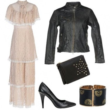 Outfit Trendy rock
