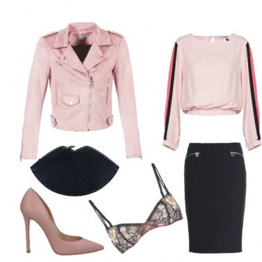 Outfit Pink woman