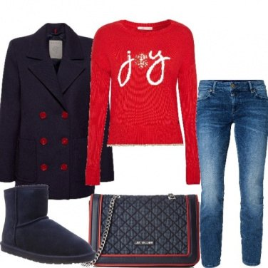 Outfit In tema di rosso