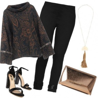 Outfit Glamour a Capodanno