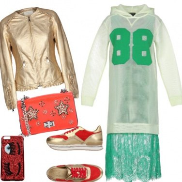Outfit Discolook pre-natalizio