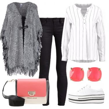 Outfit Righe e colori