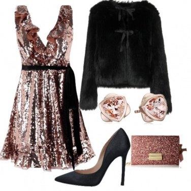 Outfit Per un capodanno scintillante