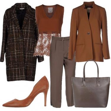 Outfit I bei toni del marrone
