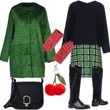 Outfit Charm ai colori natalizi