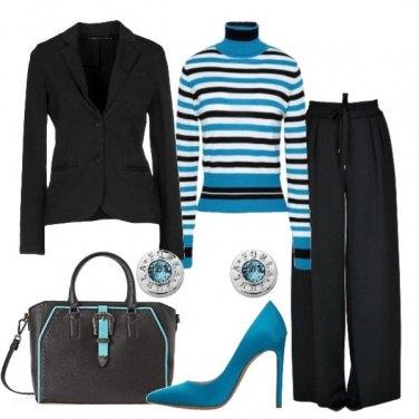 Outfit Colore sul nero
