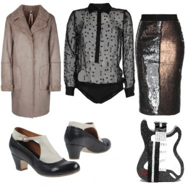 Outfit Longuette oro